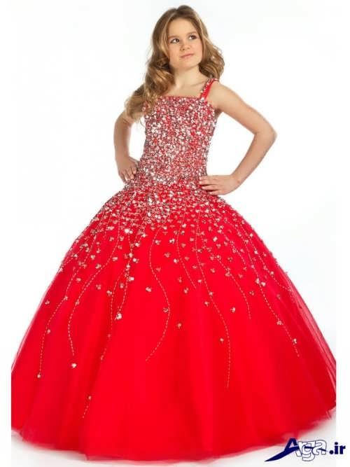 لباس پرنسسی برای دختر بچه ها