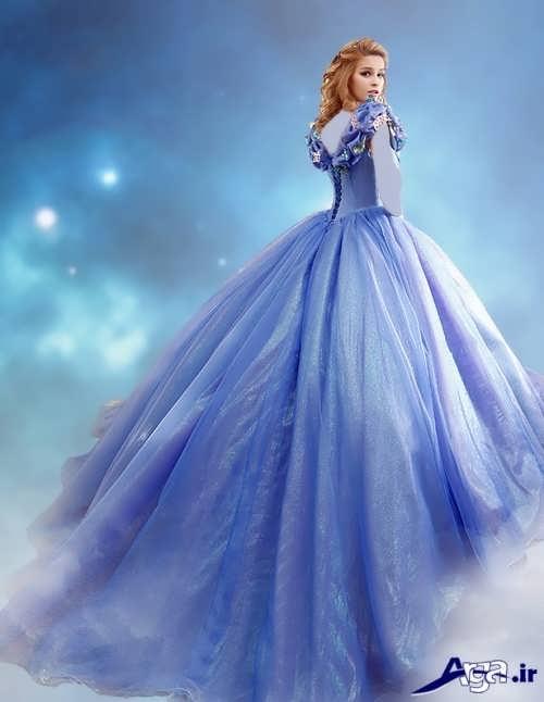لباس پرنسسی دخترانه زیبا و جدید