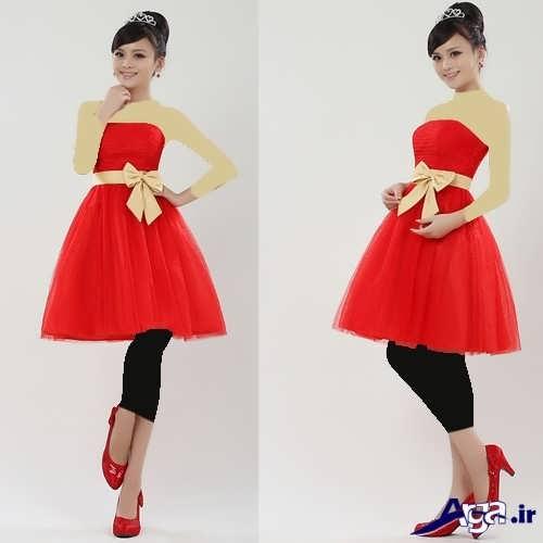 مدل لباس پرنسسی زیبا و متفاوت