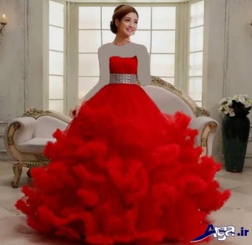مدل لباس پرنسسی زیبا و جدید