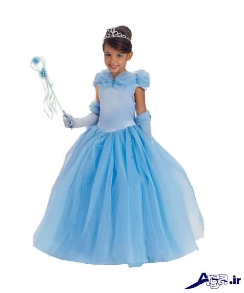 لباس پرنسسی دخترانه بچه گانه