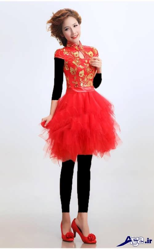 لباس پرنسسی کوتاه