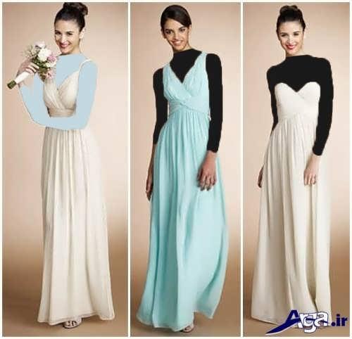 انواع مدل های لباس ساقدوش عروس