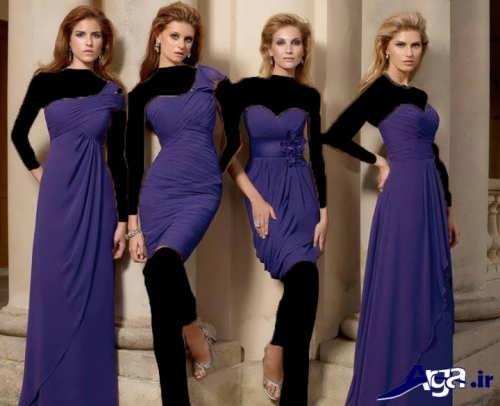 طرح های زیبا لباس ساقدوش