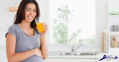 خاصیت های آب هویج برای زن باردار