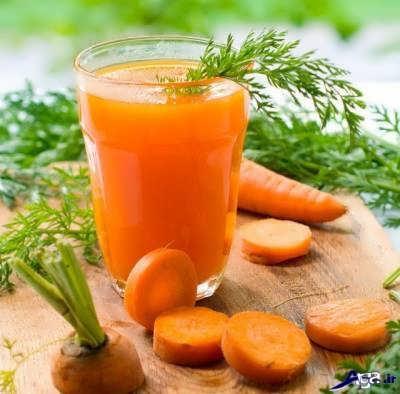 فواید آب هویج برای بدن