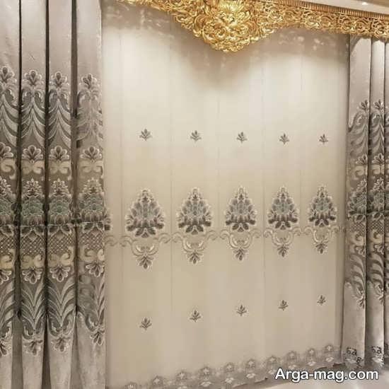 پرده سلطنتی با طراحی شیک