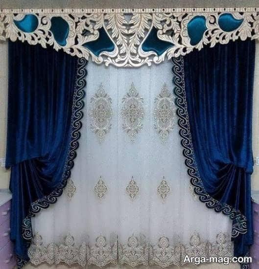 پرده سلطنتی والان دار زیبا