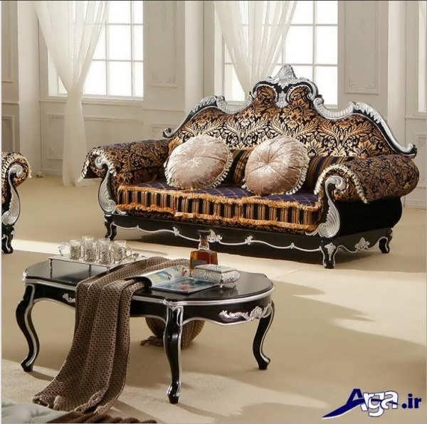 مبلمان سلطنتی با طراحی بی نظیر