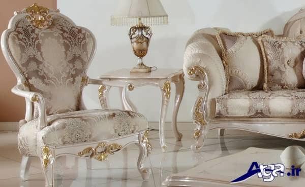 مبلمان سلطنتی با طراحی زیبا