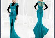 مدل لباس ساتن مجلسی شیک