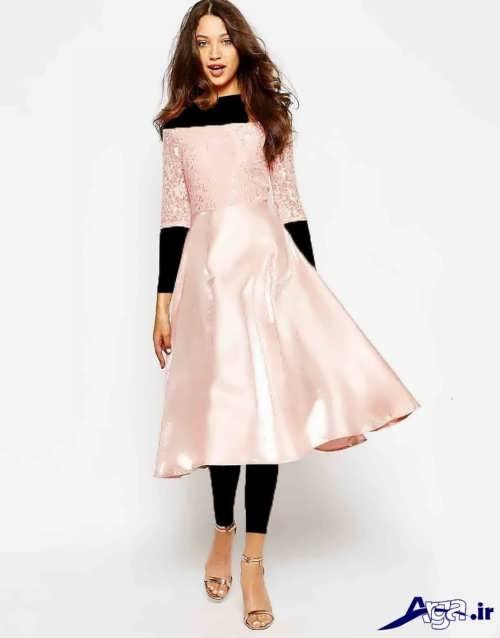 انواع مدل های لباس مجلسی ساتن