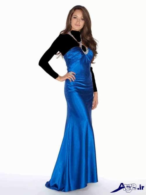 مدل لباس مجلسی ساتن