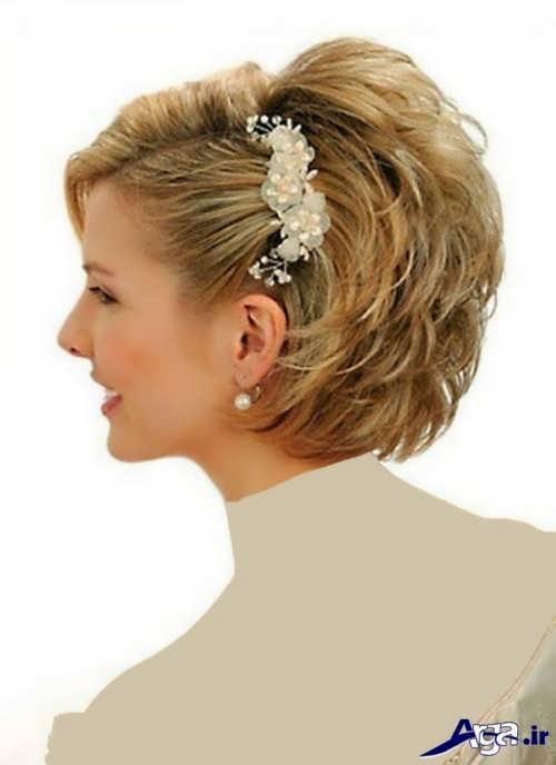 مدل موی کوتاه دخترانه برای عروسی