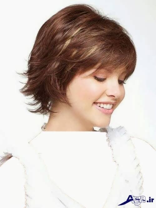 مدل موی کوتاه زنانه زیبا و متفاوت