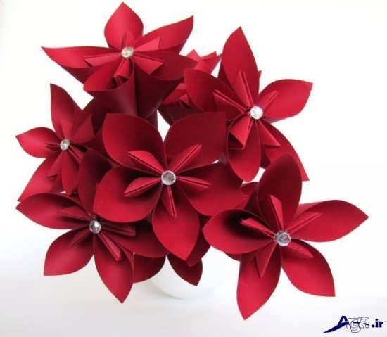 مدل گل کاغذی
