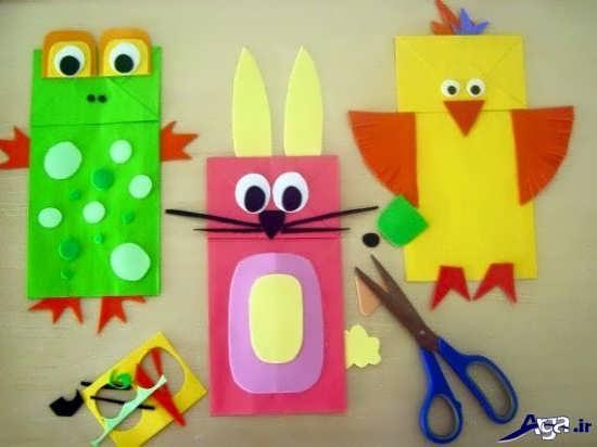 ساخت کاردستی کودکان با کاغذ