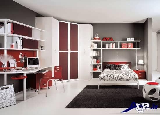 دکوراسیون داخلی برای اتاق خواب نوجوان
