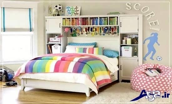 طراحی داخلی شیک برای اتاق خواب نوجوان