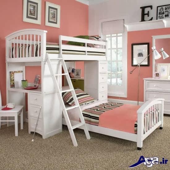 مدل دکوراسیون اتاق خواب نوجوان دختر