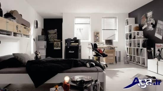 دیزاین دکوراسیون داخلی برای اتاق خواب نوجوانان
