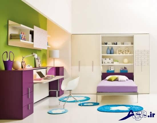دکوراسیون اتاق خواب نوجوان زیبا