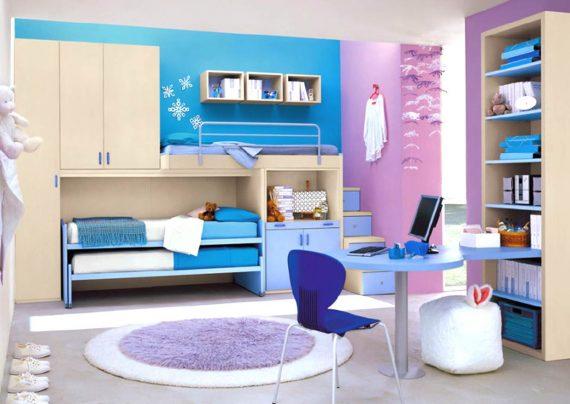 دکوراسیون اتاق خواب نوجوان با طراحی های زیبا و متفاوت