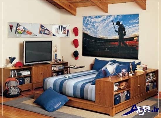 دکوراسیون داخلی برای اتاق خواب نوجوان پسر