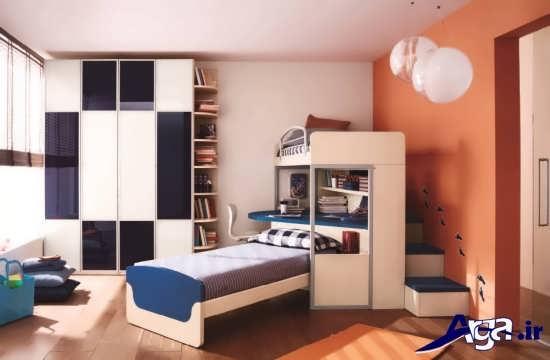 طراحی اتاق خواب نوجوان مدرن