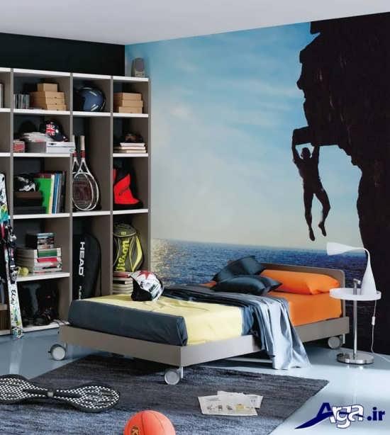 جدیدترین نمونه های طراحی داخلی برای اتاق خواب نوجوان
