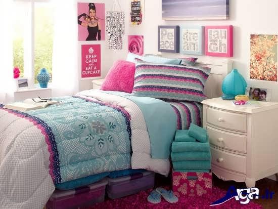 دیازین دکوراسیون داخلی اتاق خواب نوجوان دختر
