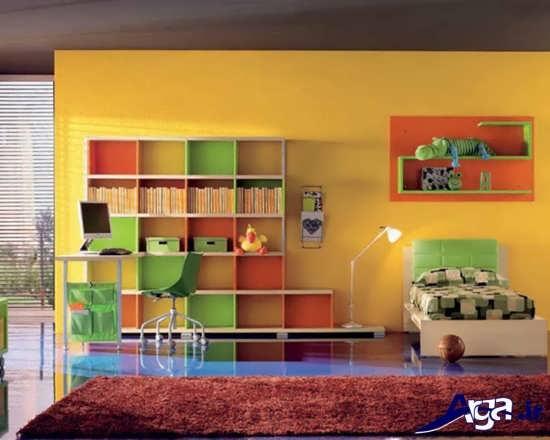 دکوراسیون داخلی اتاق خواب برای نوجوانان