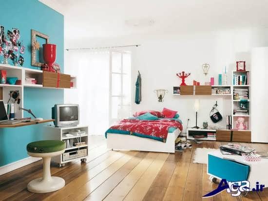 طراحی های زیبا برای دکوراسیون داخلی اتاق خواب نوجوان