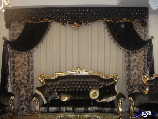 مدل پرده سلطنتی