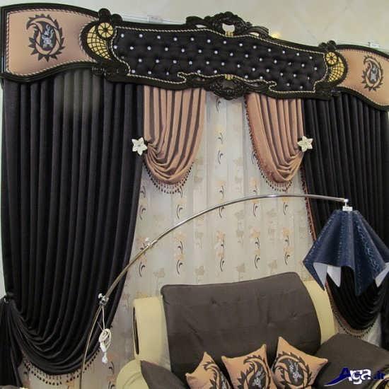 پرده سلطنتی اتاق پذیرایی