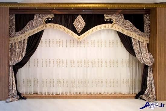 مدل پرده سلطنتی هال و پذیرایی