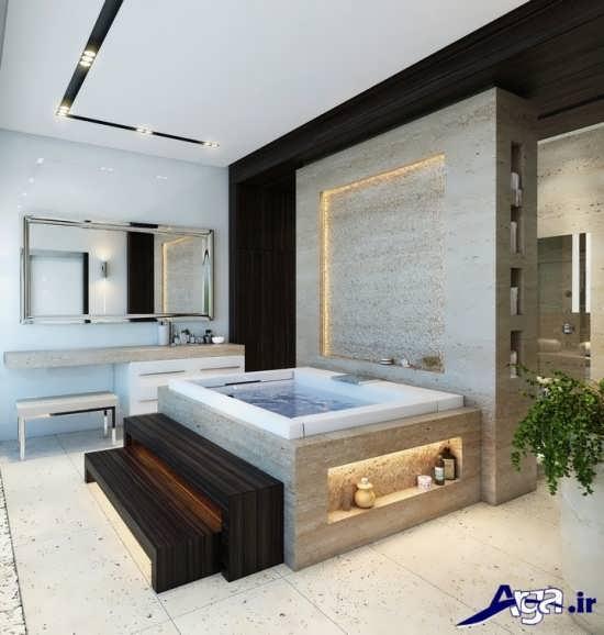 دکوراسیون داخلی حمام های لوکس