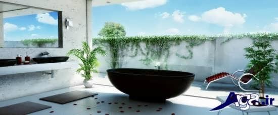 دکوراسیون داخلی سرویس بهداشتی در زیباترین خانه های دنیا