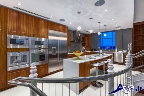 دکوراسیون داخلی آشپزخانه های مدرن در زیباترین خانه های جهان