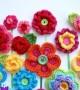آموزش بافت گل با قلاب و کاموا