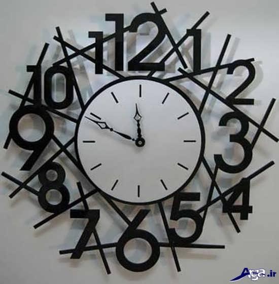 ساعت دیواری جدید با طرح عدد