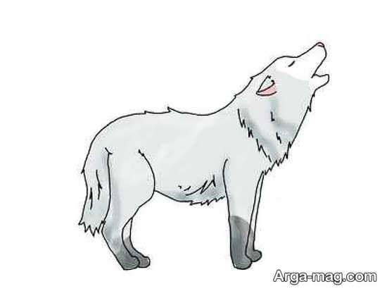 جذاب ترین نقاشی گرگ