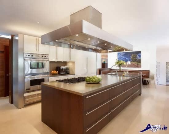 تصاویر آشپزخانه جزیره ای