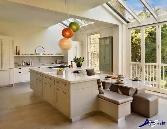 آشپزخانه های مدرن جزیره ای