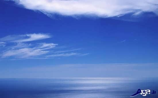 عکس آسمان زیبا و شفاف