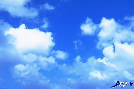 عکس آسمان صاف و زیبا