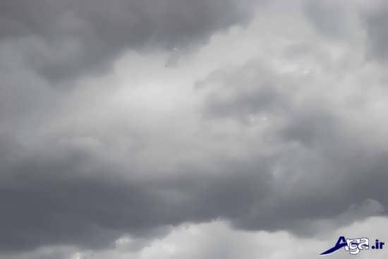 عکس آسمان زیبا و ابری