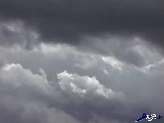 عکس های آسمان ابری و عاشقانه