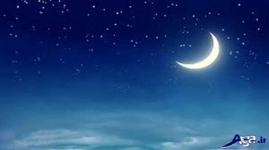 عکس های آسمان مهتابی