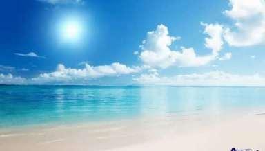 عکس آسمان آبی زیبا